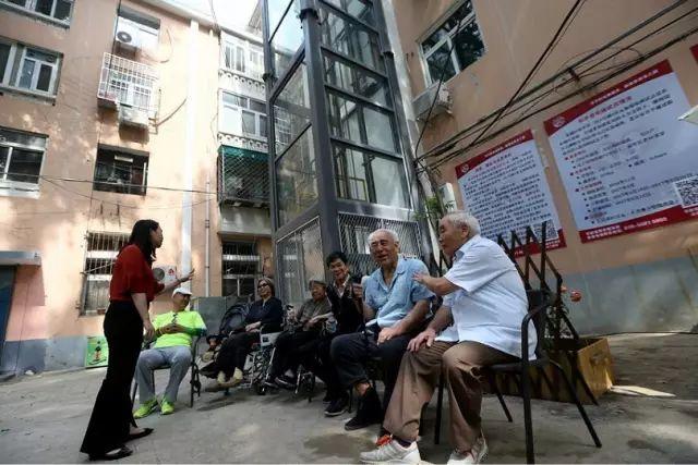 北京加固公司承接老旧小区改造加装电梯成功