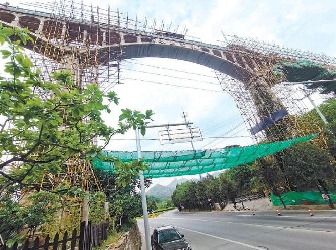 北京加固公司转载-怀柔辛营渡槽 启动加固修缮
